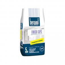 Bergauf Finish Gips финишная шпаклевка на гипсовой основе 5кг