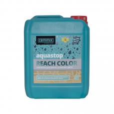 Cemmix Прозрачная водоотталкивающая пропитка усиливающая цвет AquaStop reach color 5л