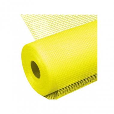 Faber Сетка фасадная желтая 145г/м2 5х5х20000 мм