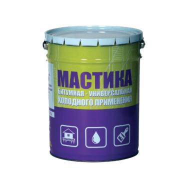 КРЗ Мастика битумная универсальная 14 кг