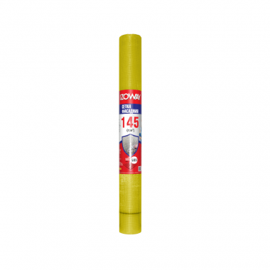 IZOWAY Сетка фасадная желтая 5*5мм 145г/м2 30м