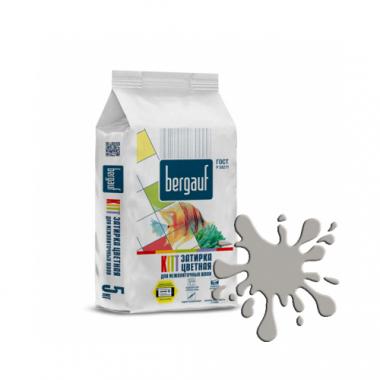 Bergauf KITT - ЗАТИРКА СЕРАЯ для межплиточных швов толщиной 1-5 мм  5 кг