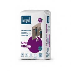 Bergauf Uni Finish базовая белая унив. шпаклевка для внут. и наруж. работ 20 кг