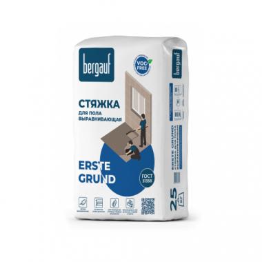Bergauf Erste Grund Выравнивающая стяжка для пола с армирующими волокнами 25 кг