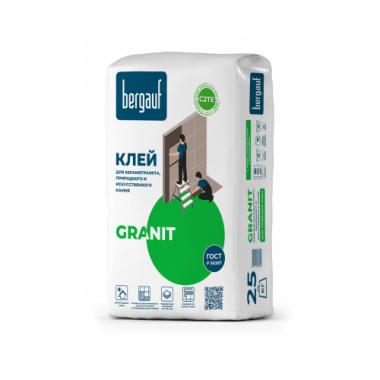 Bergauf Granit Клей для крупноформатных и тяжелых плит 25кг
