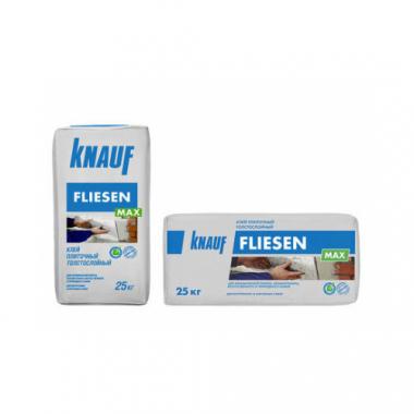 Knauf Флизен Макс  Клей для плитки и керамогранита толстослойный 25 кг