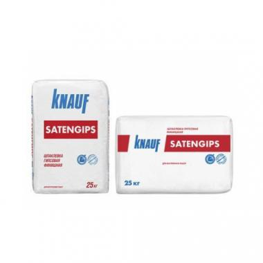 Knauf Сатенгипс шпаклевка гипсовая финишная 25 кг