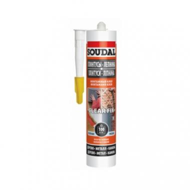 Soudal Монтажный клей CLEAR FIX 280 мл