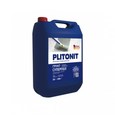 Плитонит Грунт СуперПол праймер-концентрат акрилатный для напольных работ 10 кг