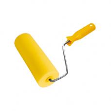Валик поролоновый желтый, 15/55 мм, высота 20 мм, 180 мм