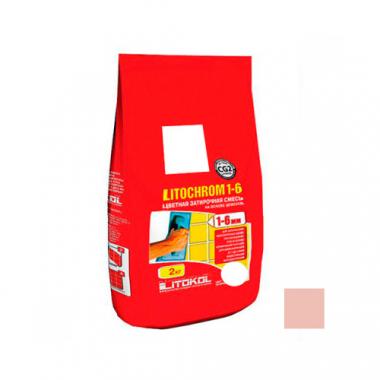 Litokol LITOCHROM 1-6 C.180 розовый фламинго 2 кг