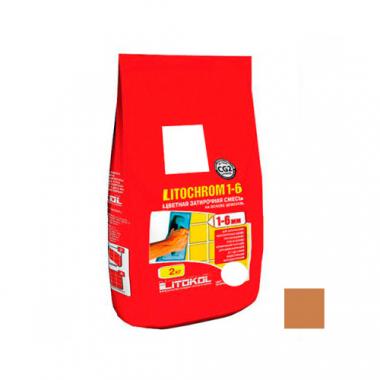 Litokol LITOCHROM 1-6 C.210 персик 2 кг