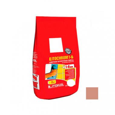 Litokol LITOCHROM 1-6 C.90 красно-коричневый 2 кг