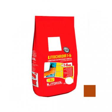 Litokol LITOCHROM 1-6 C.500 красный кирпич 2 кг