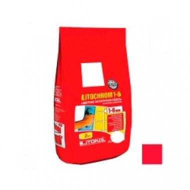 Litokol LITOCHROM 1-6 C.630 красный чили 2 кг