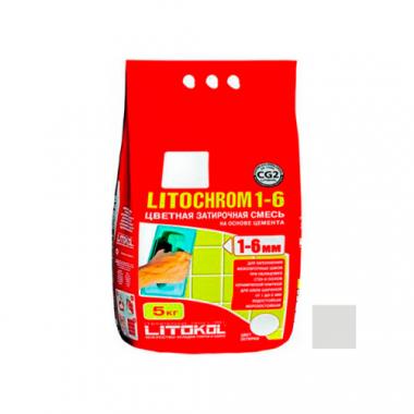 Litokol LITOCHROM 1-6 C.20 светло-серый 5 кг