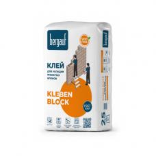 Bergauf Kleben Block Клей для укладки ячеистых блоков 25 кг