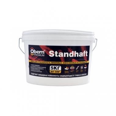Obern Premium Standhaft Клей для стеклохолстов и обоев 5 кг