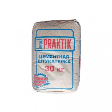 Bergauf PRAKTIK Цементная штукатурка 30 кг