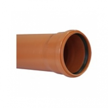 MegaPlast Труба ПВХ Рыжая 160х4,0х1500 мм