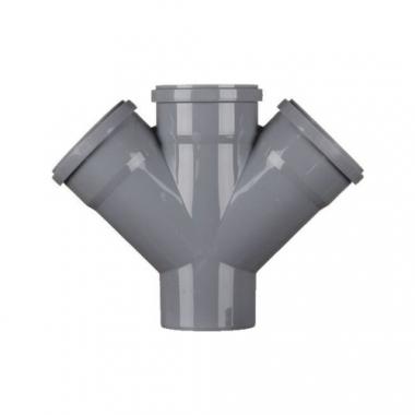 MegaPlast Крестовина 110х110х110 мм