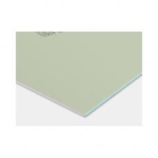 Knauf Гипсокартон влаго-огнестойкий (ГКЛВО) 2500х1200х12,5 мм