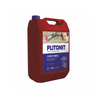 Плитонит СуперСтяжка добавка для растворов 10 л