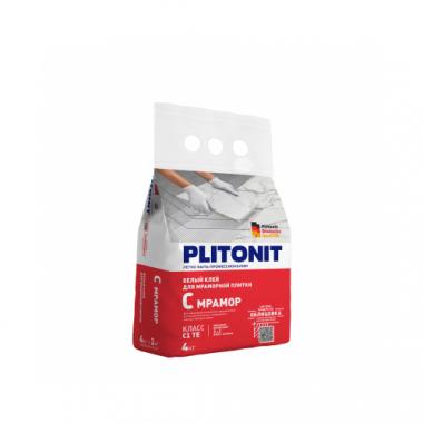 Плитонит С Мрамор клей для мраморной плитки супер белый 4 кг
