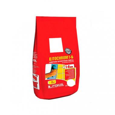 Litokol Затирочная смесь LITOCHROM 1-6 C.00  белая 2 кг