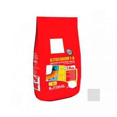 Litokol Затирочная смесь LITOCHROM 1-6 C.20 светло-серая 2 кг