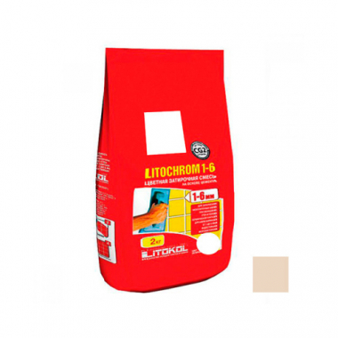 Litokol LITOCHROM 1-6 C.60 багама 2 кг