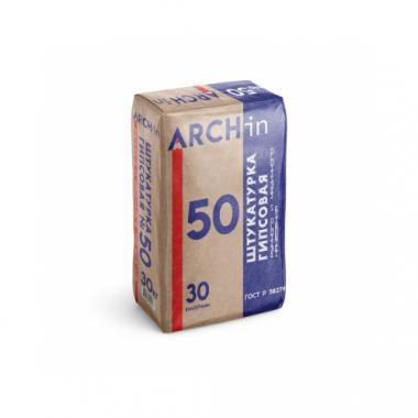 АРХИН (ARCHin) Штукатурка гипсовая для машинного и ручного нанесения 30 кг