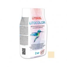 Litokol LITOCOLOR  L.21 Светло-бежевыйалюм.мешок 2 кг