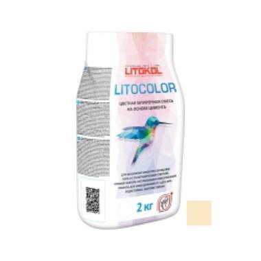 Litokol LITOCOLOR  L.21 Светло-бежевый 2 кг