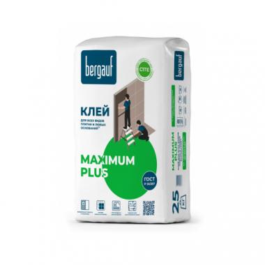 Bergauf Maximum PLUS Клей для всех видов плитки на сложные основания 25кг