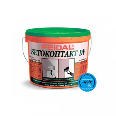Адгезионный грунт BETOKONTAKT DV для внутренних работ морозостойкий 20 кг