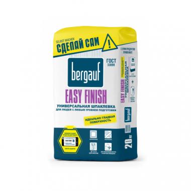 Bergauf Easy Finish Универсальная шпаклевка для людей с любым уровнем подготовки 20кг