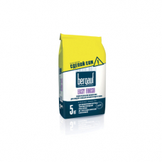 Bergauf Easy Finish Универсальная шпаклевка для людей с любым уровнем подготовки 5кг