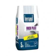 Bergauf Finish Plast Шпаклевка финишная полимерная для тонкослойного выравнивания 5 кг