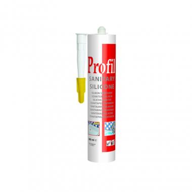 Soudal Profil санитарный силикон прозрачный 270 мл