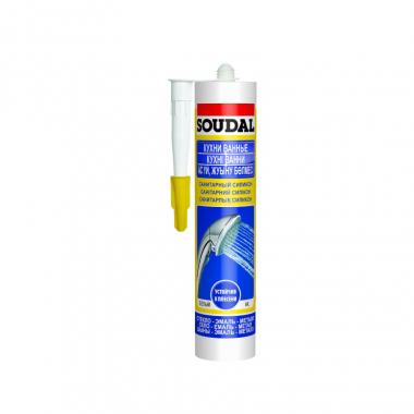 Soundal Универсальный силикон бесцветный 300мл