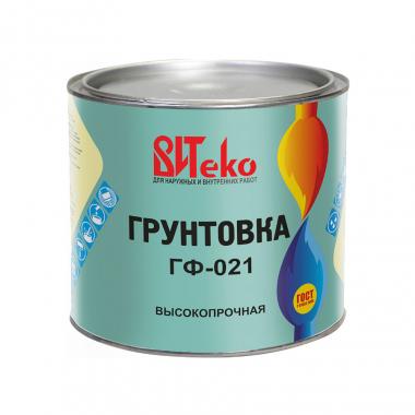 Витеко Грунтовка ГФ-021 КРАСНО-КОРИЧНЕВАЯ 2кг