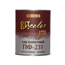Витеко Лак паркетный ПФ-231  ВИТ color 0,8 кг