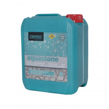 Cemmix Водоотталкивающая пропитка для натурального камня AquaStone 5 л
