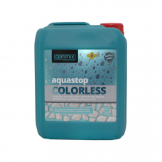 Cemmix Прозрачная водоотталкивающая пропитка AquaStop Colorless 5 л