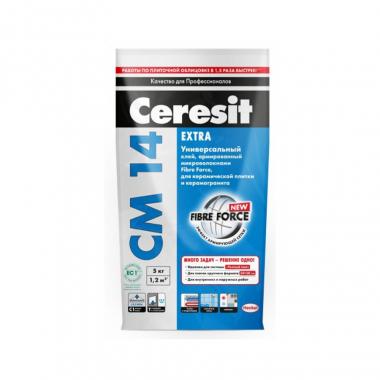 Ceresit СМ-14 клей для плитки 5 кг
