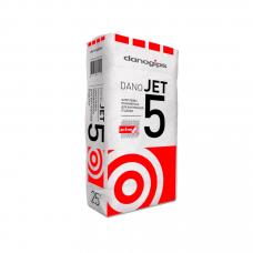 Danogips DANO JET 5 выравнивающая полимерная шпатлёвка 25 кг
