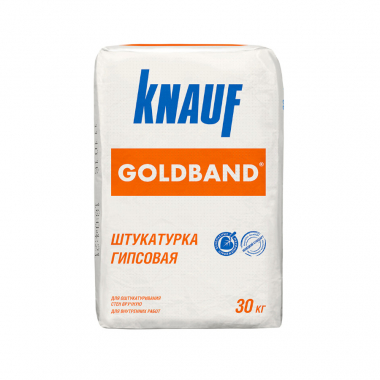 Knauf ГОЛЬДБАНД  штукатурка гипсовая 30 кг