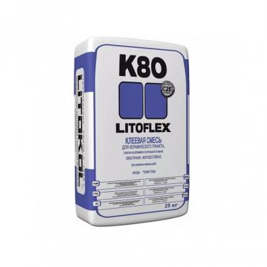 Litokol LITOFLEX К-80 клеевая смесь 25 кг