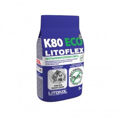 Litokol LITOFLEX К-80 клеевая смесь 5кг
